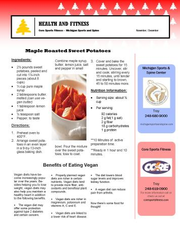 November- December 2017 Newsletter Page1
