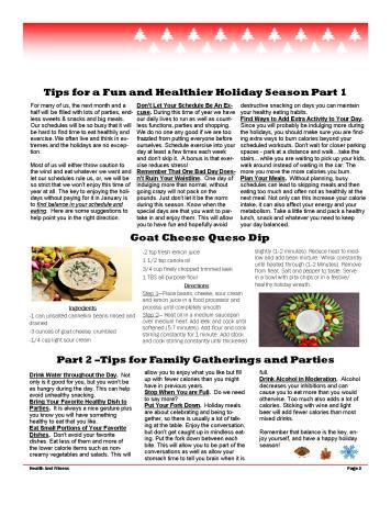 November- December 2017 Newsletter page2
